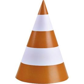 Parti Paketi Inşaat Partisi, Uyarı Konisi Şapka/dekor Parti Dekoru