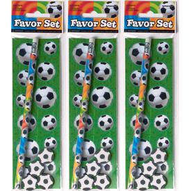 Parti Paketi Futbol Kalem Seti Parti Hediyesi