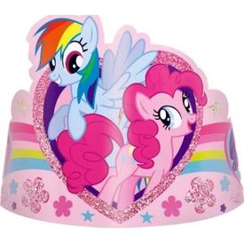 Parti Paketi My Little Pony And Friends, Pırıltılı Taç 8'li Parti Şapkası