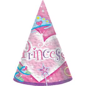 Parti Paketi Süslü Prenses,  8'li Parti Şapkası