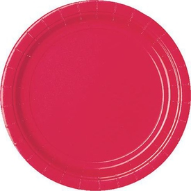 Parti Paketi Kırmızı, Küçük Tabak 8'li Parti Tabağı