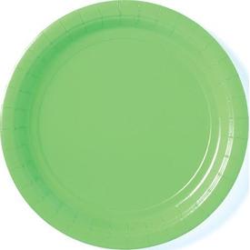 Parti Paketi Açık Yeşil Büyük Tabak 8'li Parti Tabağı