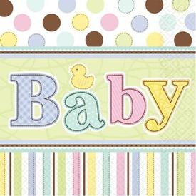 Parti Paketi Hoşgeldin Bebeğim, Peçete 36'lı Parti Peçetesi