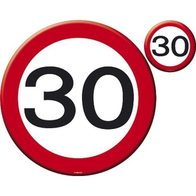 Parti Paketi Dikkat 30, Amerikan Servis/bardak Altlığı/dekor 4'lü Set Parti Masa Örtüsü