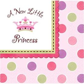 Parti Paketi Minik Prenses, Peçete Parti Peçetesi