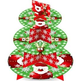 Parti Paketi Noel Baba, Cupcake Standı Parti Tabağı
