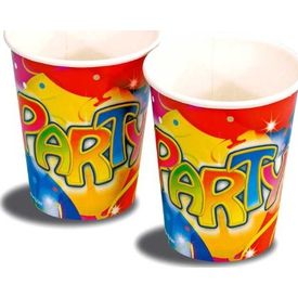 Parti Paketi Balonlar Ve Konfetiler, Bardak Parti Bardağı