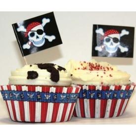 Parti Paketi Korsan Partisi, Cupcake Kiti Parti Tabağı