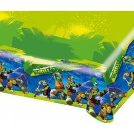 Parti Paketi Teenage Mutant Ninja Turtles, Plastik Masa Örtüsü Parti Masa Örtüsü