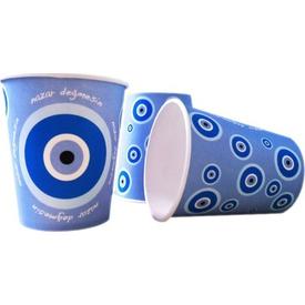 Parti Paketi Nazar Değmesin Mavi, Bardak 8'li Parti Bardağı