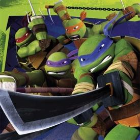 Parti Paketi Teenage Mutant Ninja Turtles, Peçete Parti Peçetesi