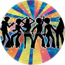Parti Paketi Disco Partisi, Küçük Tabak 8'li Parti Tabağı