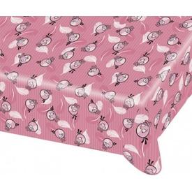 Parti Paketi Angry Birds Pink Plastik Masa Örtüsü Parti Masa Örtüsü