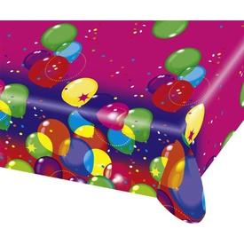 Parti Paketi Balonlar Plastik Masa Örtüsü Parti Masa Örtüsü