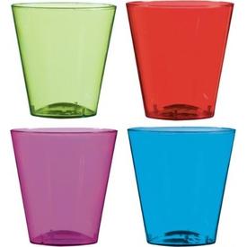 Parti Paketi Renkli Shot Bardakları 40'lı Parti Bardağı