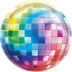 Parti Paketi 70'ler Disco Partisi, Küçük Tabak Parti Tabağı