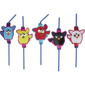 Parti Paketi Furby, Şekilli Pipet 8'li Parti Pipeti