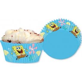 Parti Paketi Sponge Bob, Cupcake Kiti 24'lü Parti Tabağı