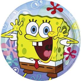 Parti Paketi Sponge Bob, Tabak 8'li Parti Tabağı