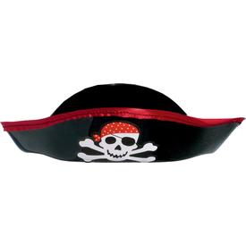 Parti Paketi Plastik Korsan Şapkası Kostüm Şapkası