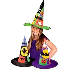 Parti Paketi Cadı Şapkası, Ürkünç Yaratıklar Kostüm Şapkası