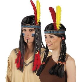 Parti Paketi Kızılderili Saç Bandı Kanat / Taç