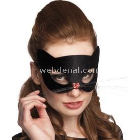 Parti Paketi Cat Women, Maske Parti Maskesi