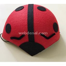 Parti Paketi Uğur Böceği, Keçe Şapka Kostüm Şapkası