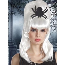 Parti Paketi Spiderella Beyaz Peruk, Örümcekli Parti Peruğu