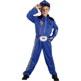 Parti Paketi Yarışçı Kostümü, Lüks 4-6 Y Erkek Çocuk Kostümleri