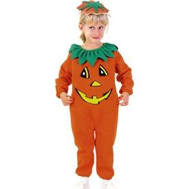 Parti Paketi Balkabağı Kostümü, 3-4 Yaş Genel Çocuk Kostümleri