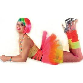 Parti Paketi Neon Renkli Tütü Yetişkin Kostümleri