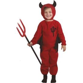 Parti Paketi Şeytan Kostümü, Çocuk 3-4 Yaş Genel Çocuk Kostümleri