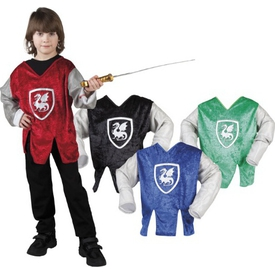 Parti Paketi Şövalye Gömlek Kostüm, 4-6 Y Erkek Çocuk Kostümleri