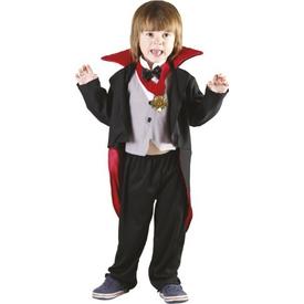 Parti Paketi Vampir / Drakula Kostümü, 3-4 Yaş Erkek Çocuk Kostümleri