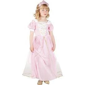 Parti Paketi Sevimli Prenses Kostüm/taç, Lüks 4-6 Y Kız Çocuk Kostümleri