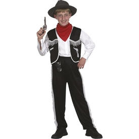 Parti Paketi Kovboy Kostümü, Erkek Çocuk 7-9 Yaş Erkek Çocuk Kostümleri