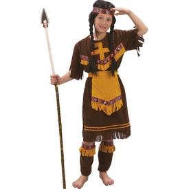 Parti Paketi Kızılderili Kostümü. Kız Çocuk 7-9 Kız Çocuk Kostümleri
