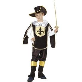 Parti Paketi Silahşör Kostümü 7-9 Y Erkek Çocuk Kostümleri