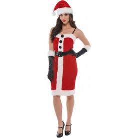 Parti Paketi Noel Anne Kostümü, Yetişkin M Yetişkin Kostümleri