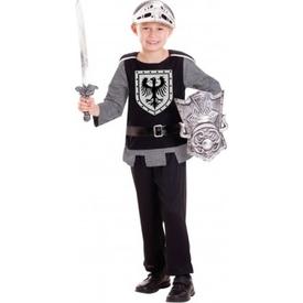 Parti Paketi Şövalye Kostüm Ve Aksesuar Seti 3-6 Yaş Erkek Çocuk Kostümleri