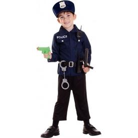 Parti Paketi Polis Kostüm Ve Aksesuar Seti 3-6 Yaş Genel Çocuk Kostümleri