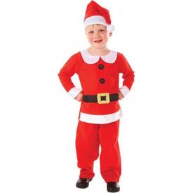 Parti Paketi Noel Çocuk Kostümü, Lüks 6-8 Yaş Erkek Çocuk Kostümleri