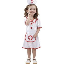 Parti Paketi Hemşire Kostümü, 3-4 Yaş Kız Çocuk Kostümleri