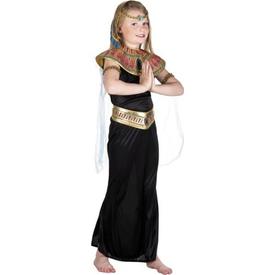 Parti Paketi Mısır Prensesi Kleopatra Kostümü, 7-9 Kız Çocuk Kostümleri