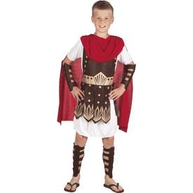 Parti Paketi Romalı Gladyatör Kostümü, Lüks 4-6 Y Erkek Çocuk Kostümleri