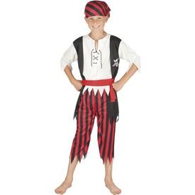 Parti Paketi Korsan Kostümü, 7-9 Yaş Erkek Çocuk Kostümleri