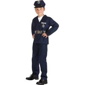 Parti Paketi Polis Kostümü, 4-6 Yaş Erkek Çocuk Kostümleri