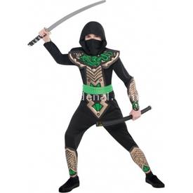 Parti Paketi Dragon Ninja Kostümü, 6-8 Yaş Erkek Çocuk Kostümleri