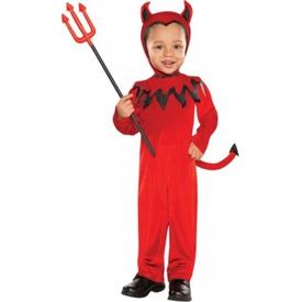 Parti Paketi Yavru Şeytan Kostümü, 1-2 Yaş Bebek Kostümleri